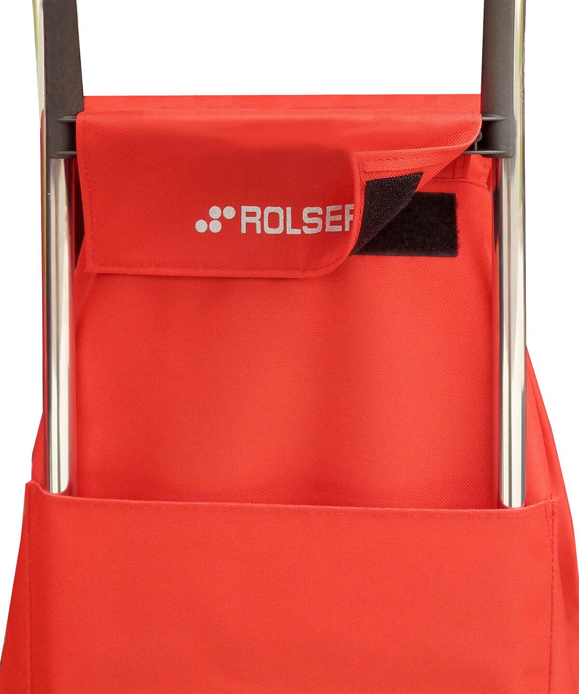 Rolser közepes bevásárlókocsi, banyatank, húzós kocsi, gurulós táska, gurulós kocsi, összehúzós bevásárlókocsi, összecsukható, táska - Ökodrogéria