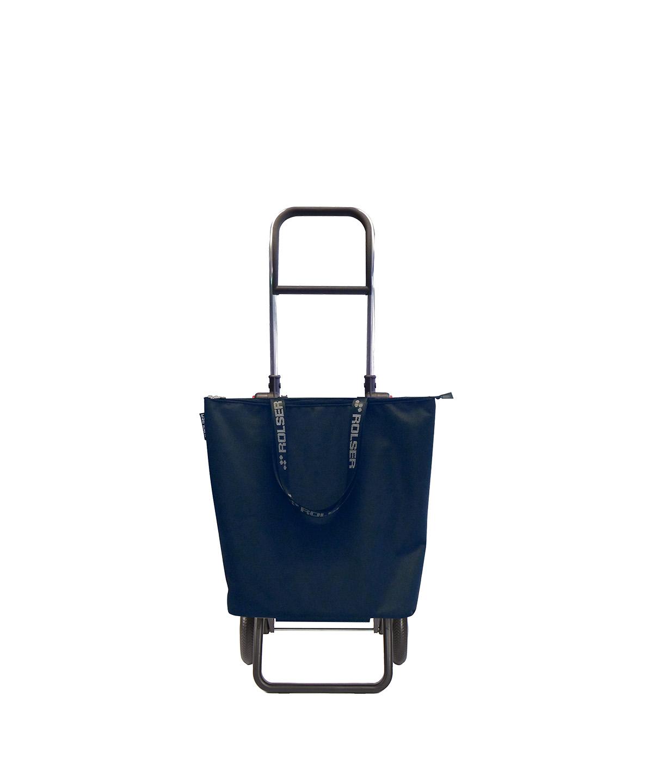 Rolser kicsi bevásárlókocsi, banyatank, húzós kocsi, gurulós táska, gurulós kocsi, összehúzós bevásárlókocsi, összecsukható, táska - Ökodrogéria