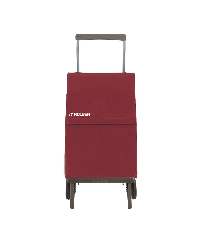Rolser közepes bevásárlókocsi, banyatank, húzós kocsi, gurulós táska, gurulós kocsi, összehúzós bevásárlókocsi, összecsukható, lépcsőnjáró, lépcsőző - ökodrogéria
